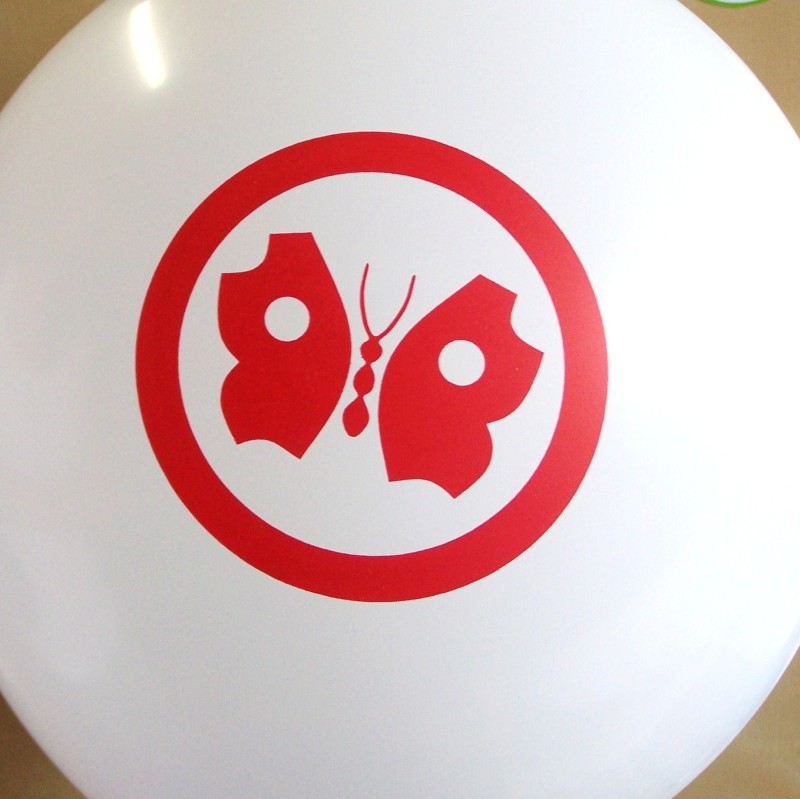 nadruki na balonach