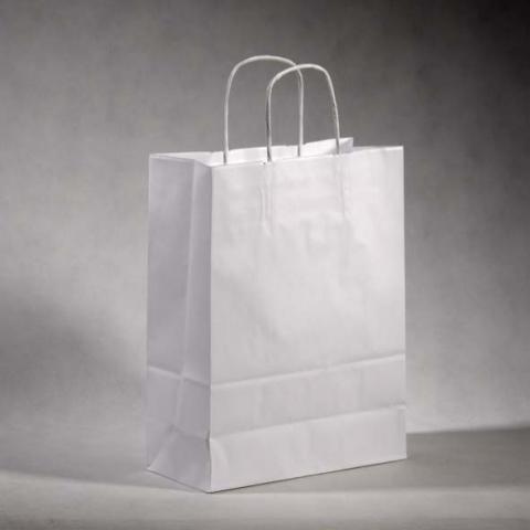 torby białe z nadrukiem