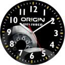zegary ścienne z logo