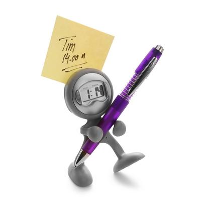 zegarek na biurko z alarmem i klipem