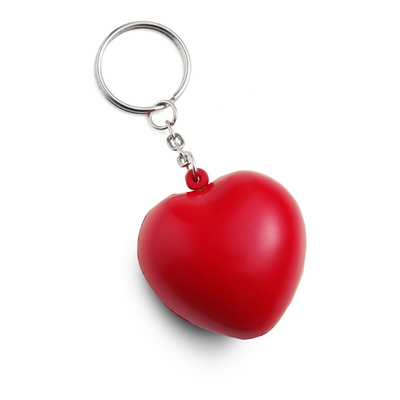 brelok serce antystres
