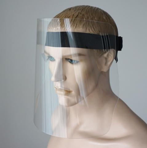 Przyłbica, osłona ochrona twarzy antywirusowa DUŻA