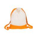 bawelniany worek pomaranczowy