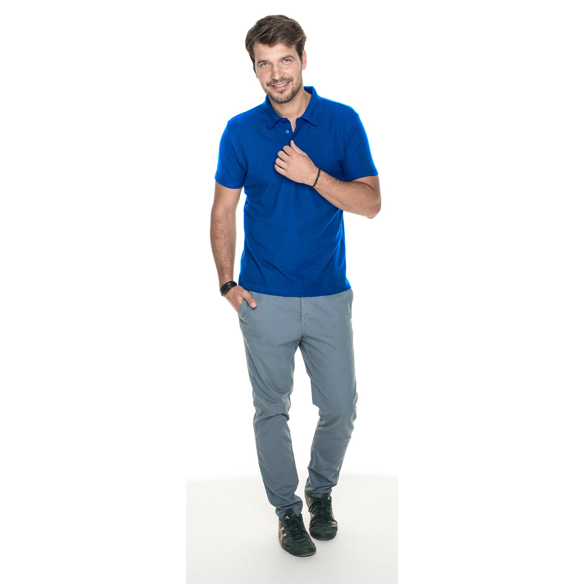 cotton slim niebieska