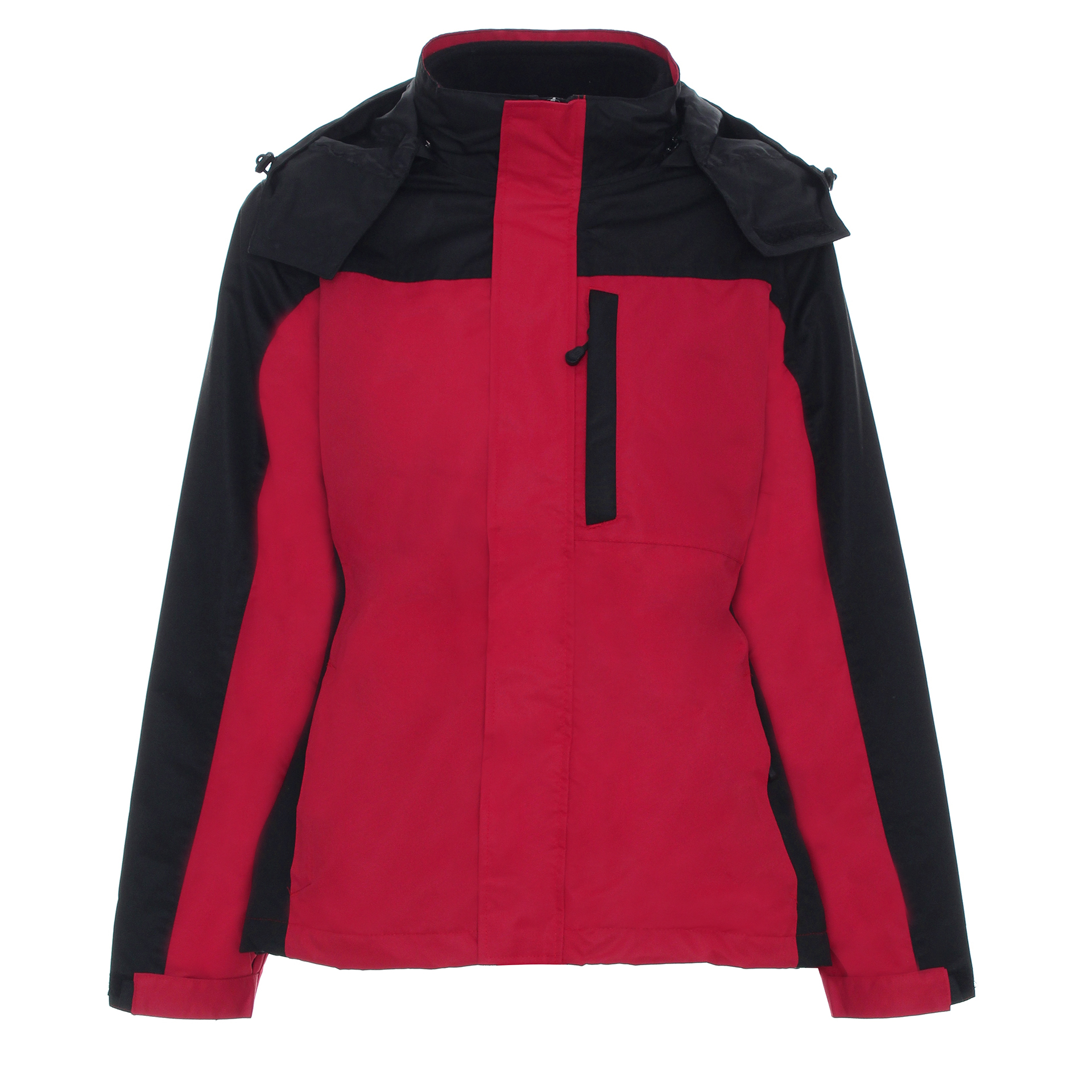 hike czerwono-czarna damska