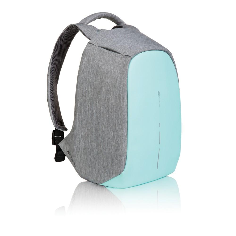 plecak chroniący przed kieszonkowcami szaro