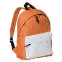 plecak pomaranczowo-bialy