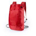plecak skladany czerwony