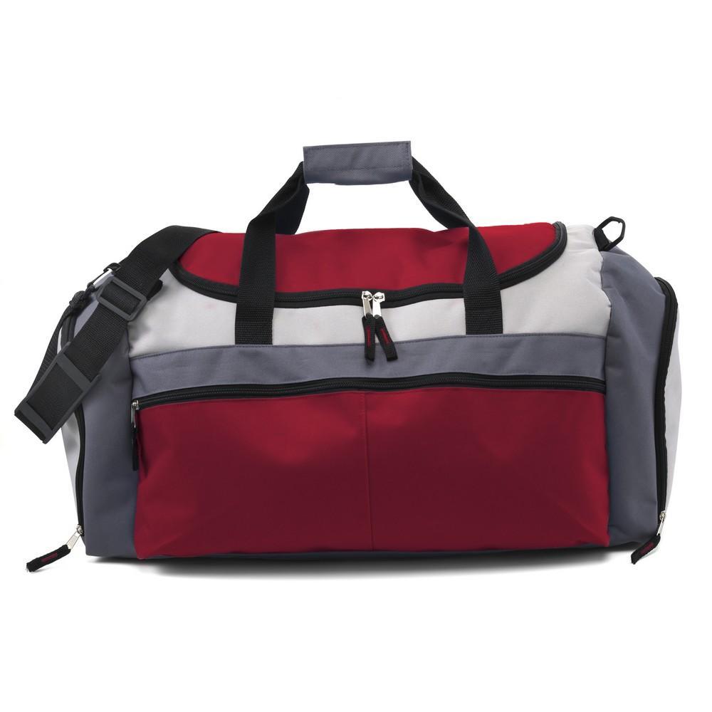 torba sportowa czerwona