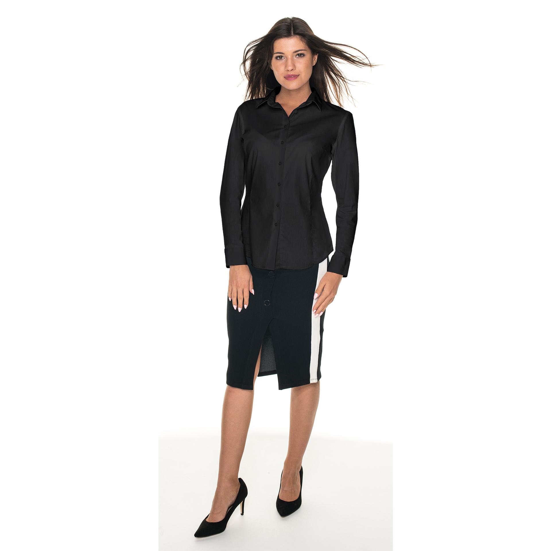 weave czarna damska