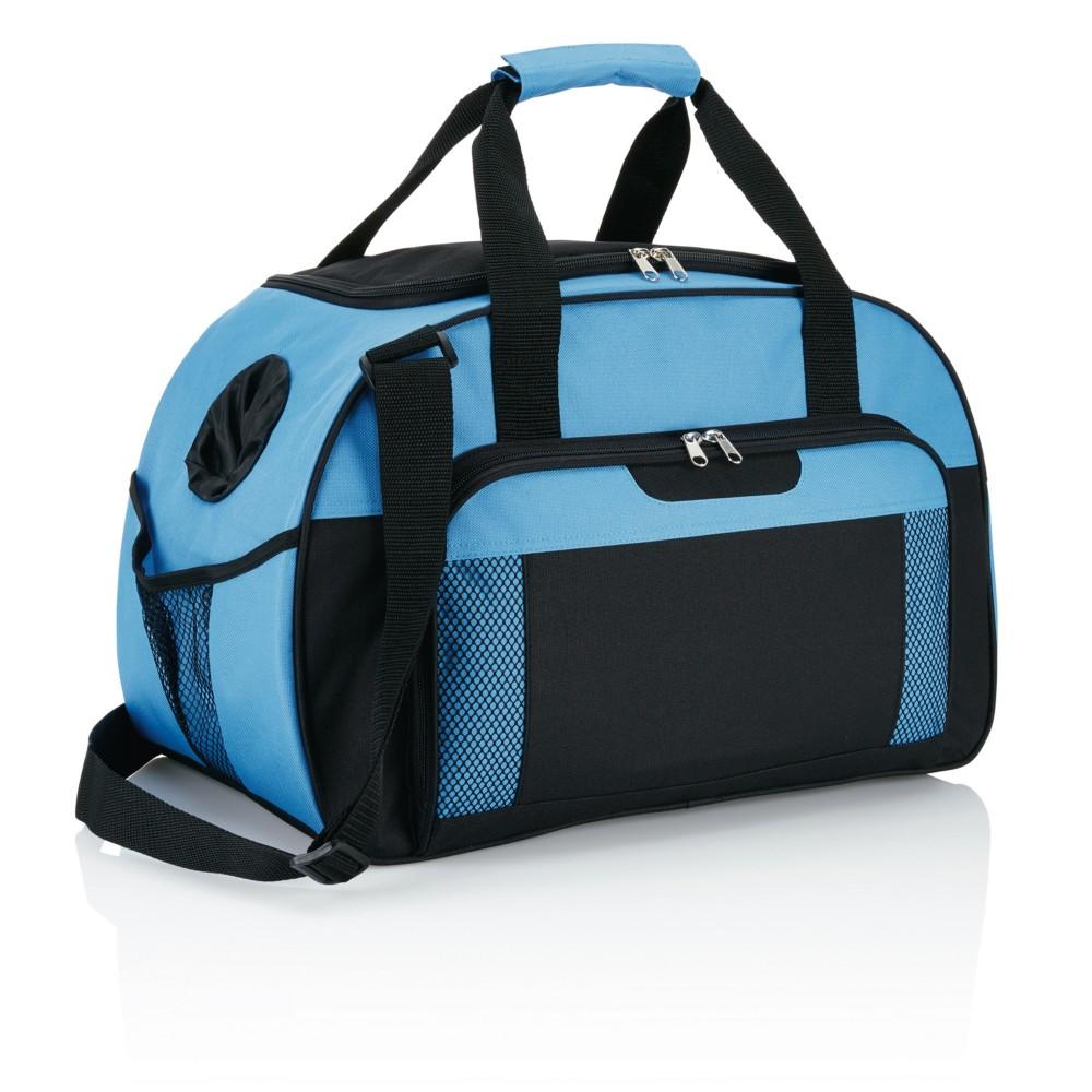 weekendowa torba niebieska