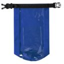 wodoodporna torba worek niebieska