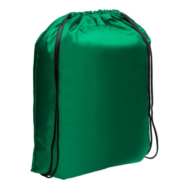 worek ze sznurkiem zielony