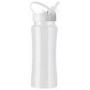 Butelka sportowa 600 ml biała