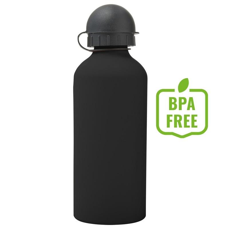 Butelka sportowa 600 ml czarna