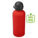 Butelka sportowa 600 ml czerwona