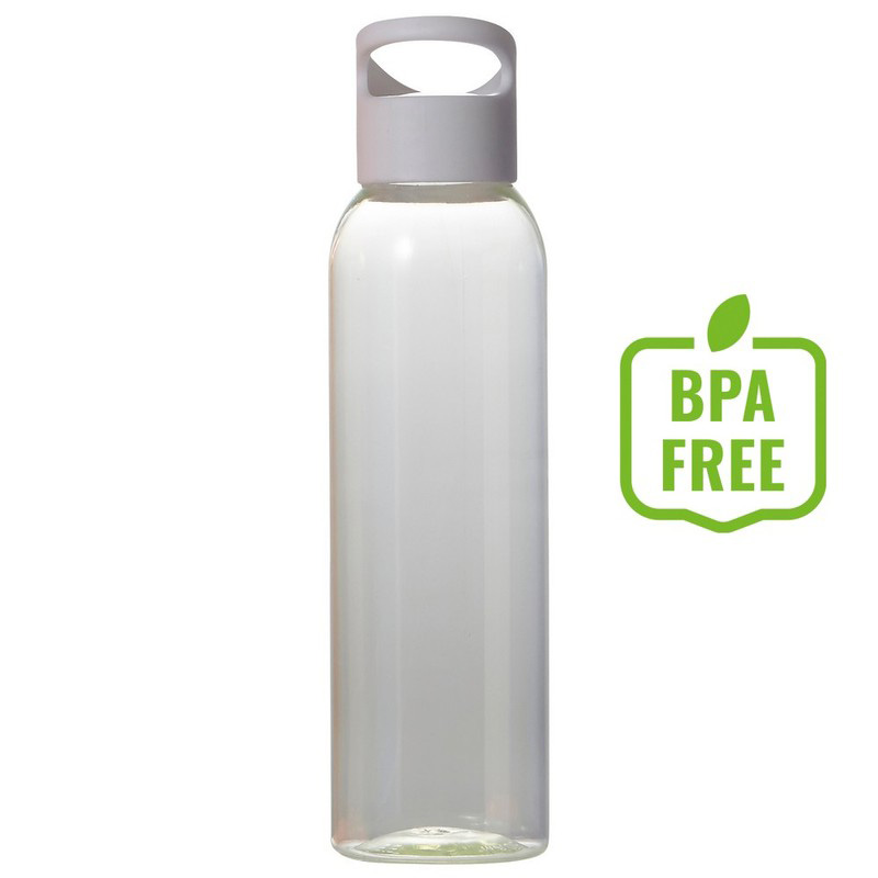 Butelka sportowa 650 ml biała
