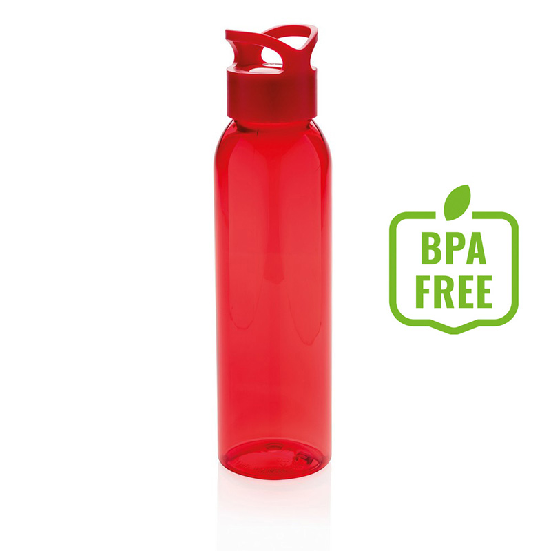 Butelka sportowa 650 ml czerwona