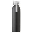 Butelka sportowa 650 ml z uchwytem biała
