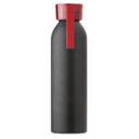 Butelka sportowa 650 ml z uchwytem czerwona