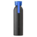 Butelka sportowa 650 ml z uchwytem niebieska