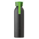 Butelka sportowa 650 ml z uchwytem zielona
