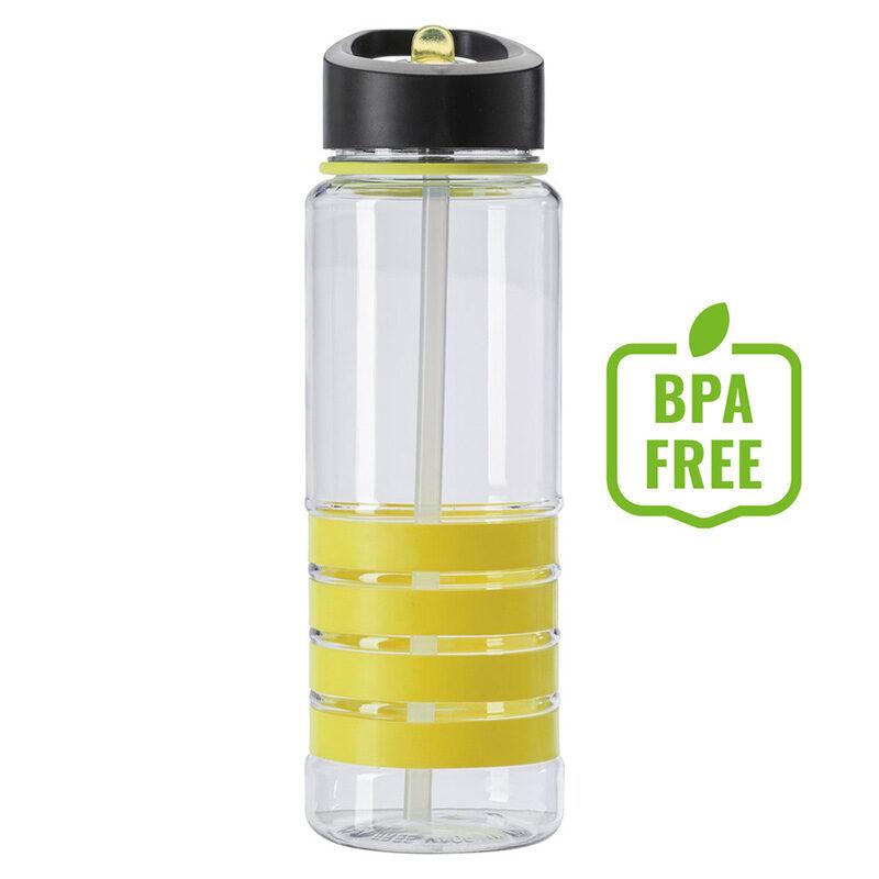 Butelka sportowa 700 m żółta