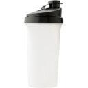 Butelka sportowa 700 ml, shaker biały