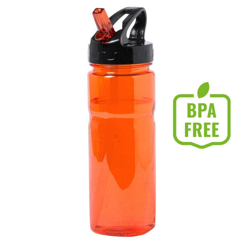 Butelka sportowa pomarańczowa