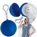 PELERYNA PRZECIWDESZCZOWA LYNNFIELD kolor niebieski