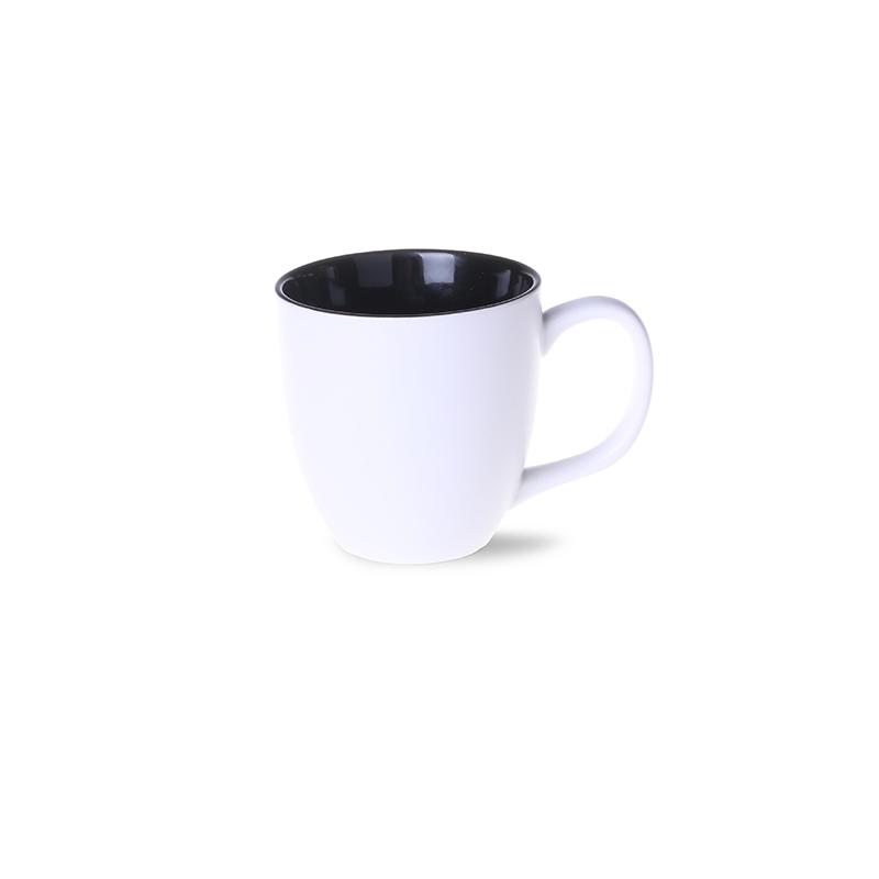 kubek americano pure biało-czarny
