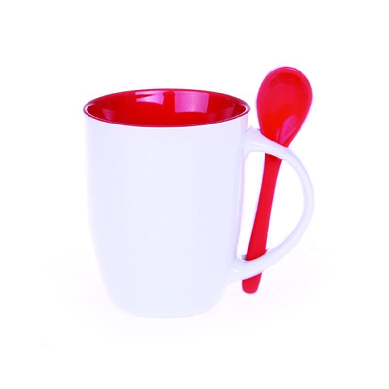kubek easy biało-czerwony
