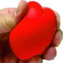 antystres serce czerwone 2