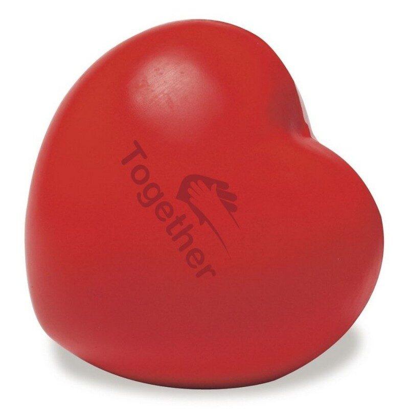 antystres serce czerwone logo
