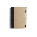 ekologiczny notatnik czarny