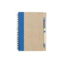 ekologiczny notatnik niebieski