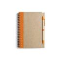 ekologiczny notatnik pomaranczowy