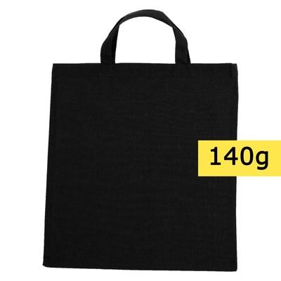 torba bawełniana czarna