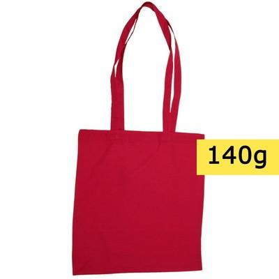torba bawełniana czerwona