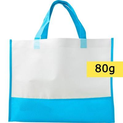 torba non woven błękitna