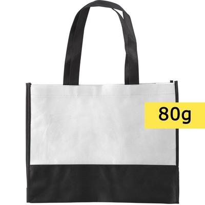torba non woven biała
