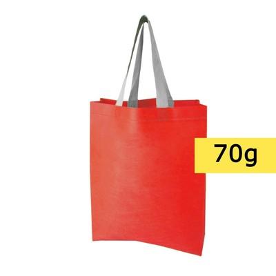 torba non-woven czerwona
