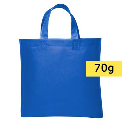 torba non-woven niebieska