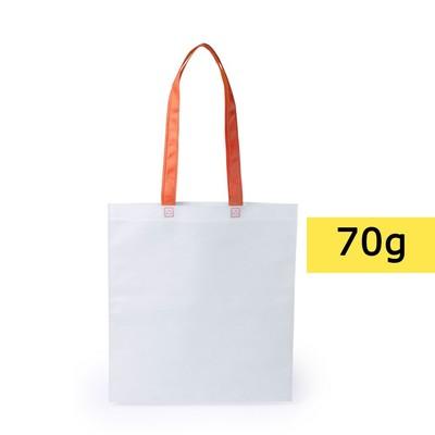 torba non-woven pomarańczowa