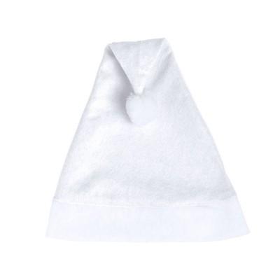 czapka swiateczna biala