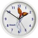 zegar ścienny reklamowy biały