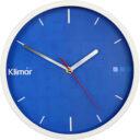 zegar ścienny reklamowy bialy